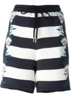 Markus Lupfer Striped Shorts
