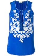 P.a.r.o.s.h. Flower Embroidered Blouse