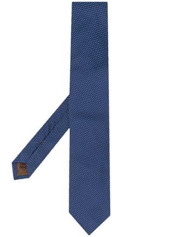Church's Micro Polka-dot Tie - Blue