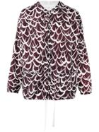 Marni Patterned Lightweight Jacket - Brown