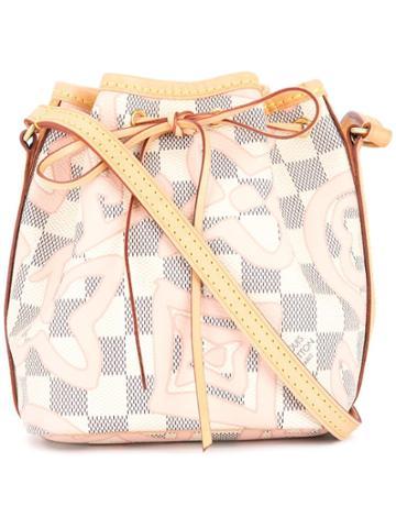 Louis Vuitton Vintage Nano Noe Drawstring Shoulder Bag - Multicolour