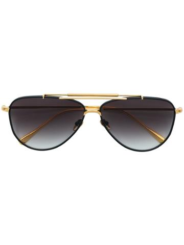 Frency & Mercury Aviator Sunglasses - Black
