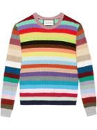 Gucci Stripe Knit Top - Multicolour
