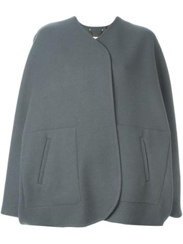 Chloé Cape Sleeve Coat