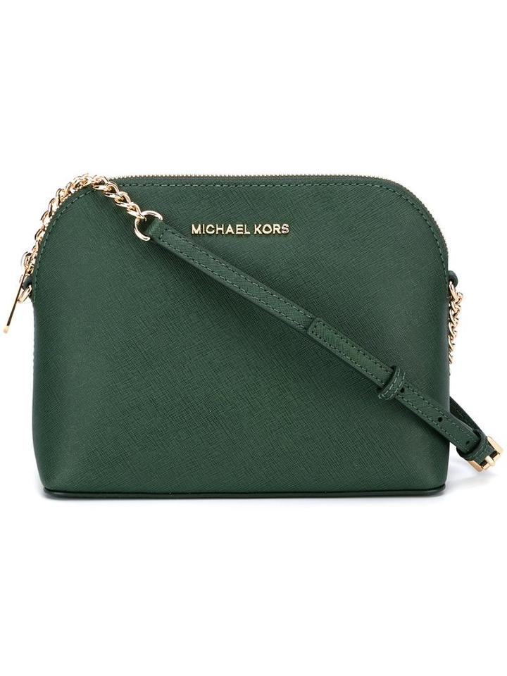 Michael Michael Kors Large 'cindy' Dome Crossbody, Women's, Green