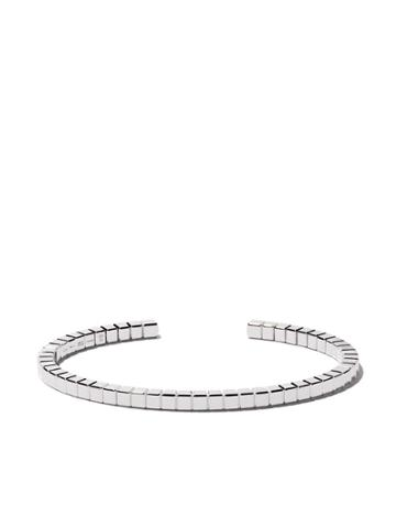 Chopard 18kt White Gold Ice Cube Pure Bangle - Fairmined White Gold