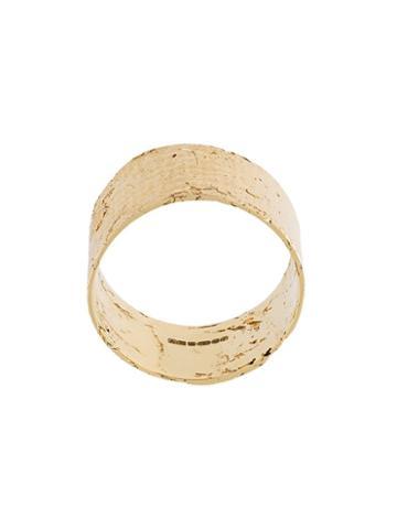 Allison Bryan Cigar Paper Ring, Women's, Size: P, Metallic