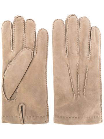 Eleventy - Casual Gloves - Men - Sheep Skin/shearling - Xl, Nude/neutrals, Sheep Skin/shearling