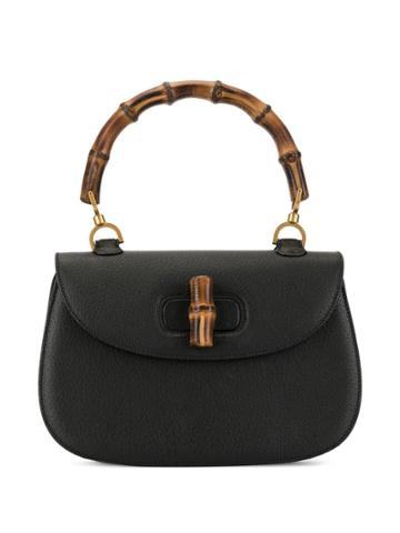 Gucci Pre-owned Bamboo Line Tote - Black
