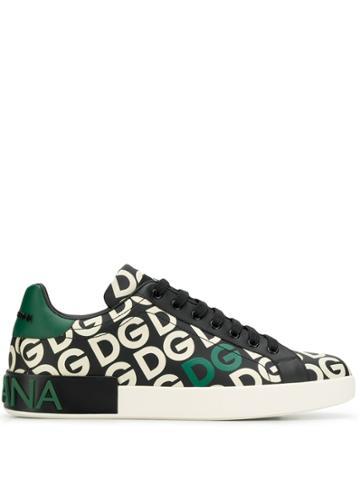 Dolce & Gabbana Dg Monogram Sneakers - Hy92a