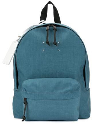 Maison Margiela Quad Stitch Backpack - Blue