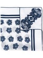 Kenzo Multi Tiger Scarf, Women's, White, Cotton/silk