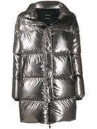 Herno Padded Jacket - Silver