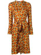 Marni Belted Shift Dress - Orange