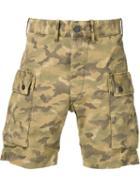 Rrl Camouflage Cargo Shorts