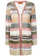 Missoni Striped Cardigan - Pink