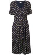 Bellerose Printed Midi Dress - Blue