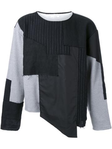 Aganovich Colour Block Sweatshirt