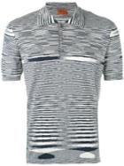 Missoni - Striped Polo Shirt - Men - Cotton - 50, Black, Cotton