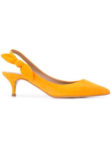 Tabitha Simmons Tabitha Simmons Rise Orange Artificial->artificial