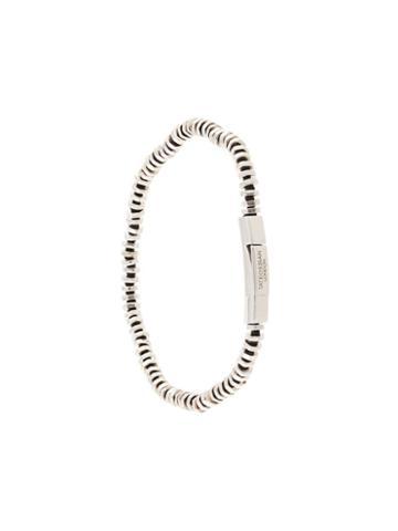 Tateossian Havana Bracelet - Silver