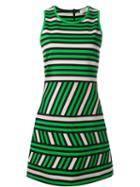 Lanvin Striped Pattern Dress