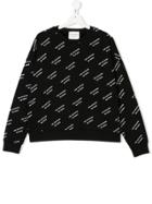 Les Coyotes De Paris Teen Logo Sweatshirt - Black