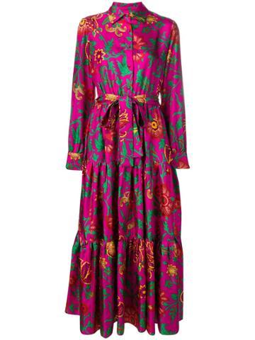 La Doublej Bellini Maxi Shirt Dress - Pink