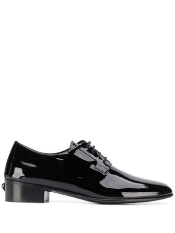 Giuseppe Zanotti Flatcher Oxford Shoes - Black