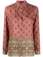 Etro Printed Loose-fit Shirt - Pink