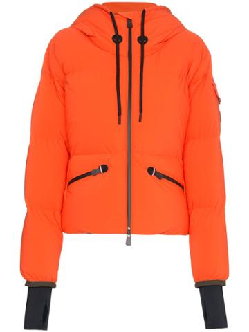 Moncler Grenoble Grenoble Airy Down Puffer Jacket - Orange