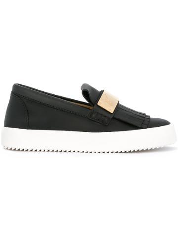 Giuseppe Zanotti Design Naomi Slip-on Sneakers - Black