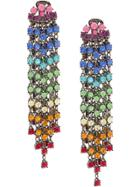Oscar De La Renta Cascade Waterfall Earrings - Multicolour