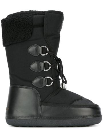 Dsquared2 Ski Snow Boots, Black, Polyester/rubber/leather