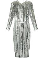 Alex Perry Dalston Dress - Metallic