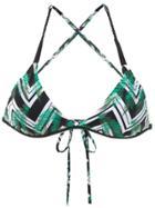 Track & Field Tranca Bikini Top - Green