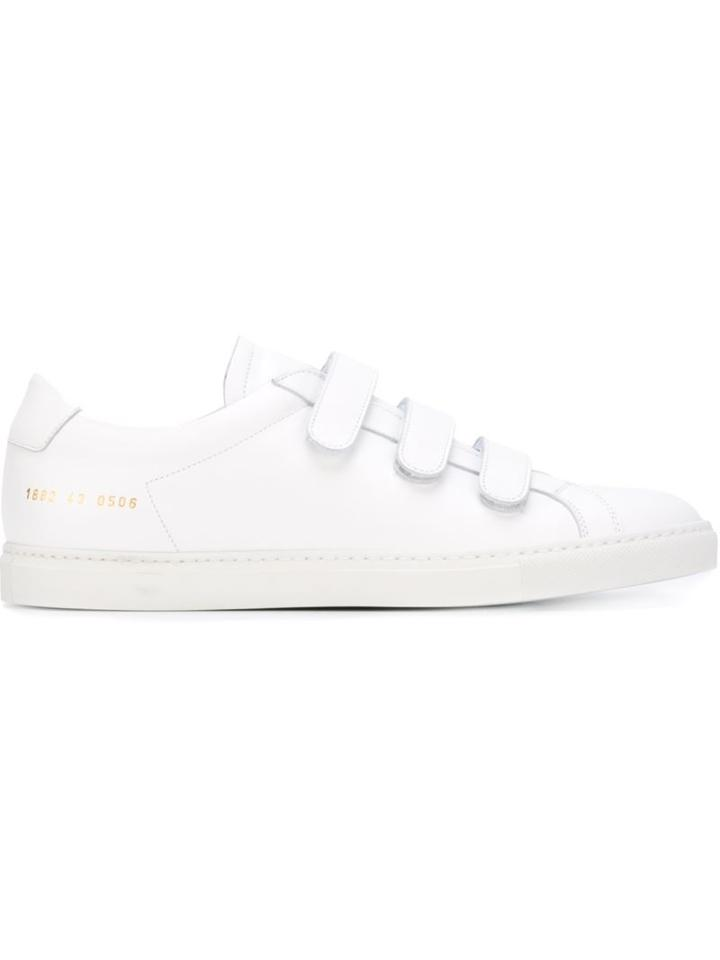 Common Projects Achilles Three-strap Sneakers