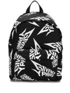 Givenchy Extreme Logo Backpack - Black