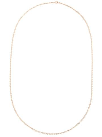 Irene Neuwirth 18kt Rose Gold Oval Chain Necklace - Pink & Purple