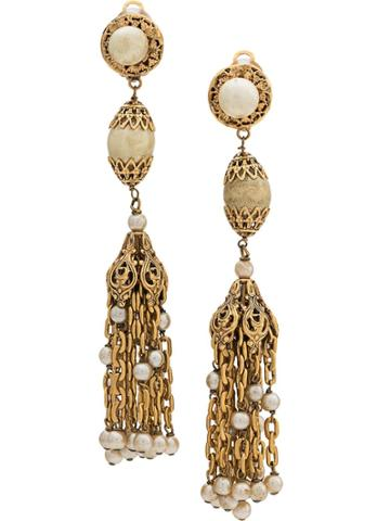 Chanel Vintage 1990's Earrings - Gold