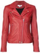Iro Classic Biker Jacket - Red