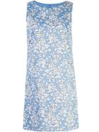 Alice+olivia Clyde Aline Dress - Blue