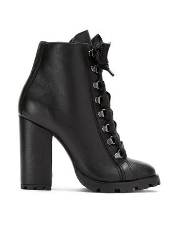 Schutz Schutz S2033000620002 Black Furs & Skins->leather