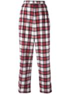 Each X Other Tartan Slouchy Pants - Red