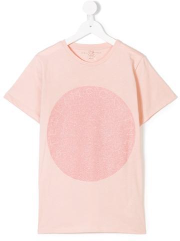 Stella Mccartney Kids Logo Print T-shirt - Nude & Neutrals