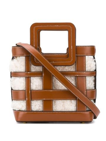 Staud Staud 079176tnnt Brown Furs & Skins->leather