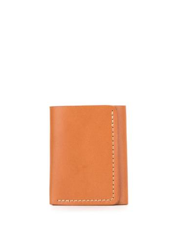 Filson Bridle Leather Tri-fold Weather - Brown