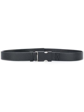 Maison Margiela Buckle Clasp Belt - Black