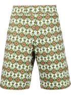 Givenchy Persian Print Bermuda Shorts