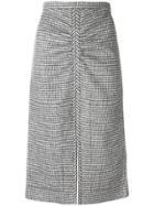 No21 Knitted Midi Skirt - Black